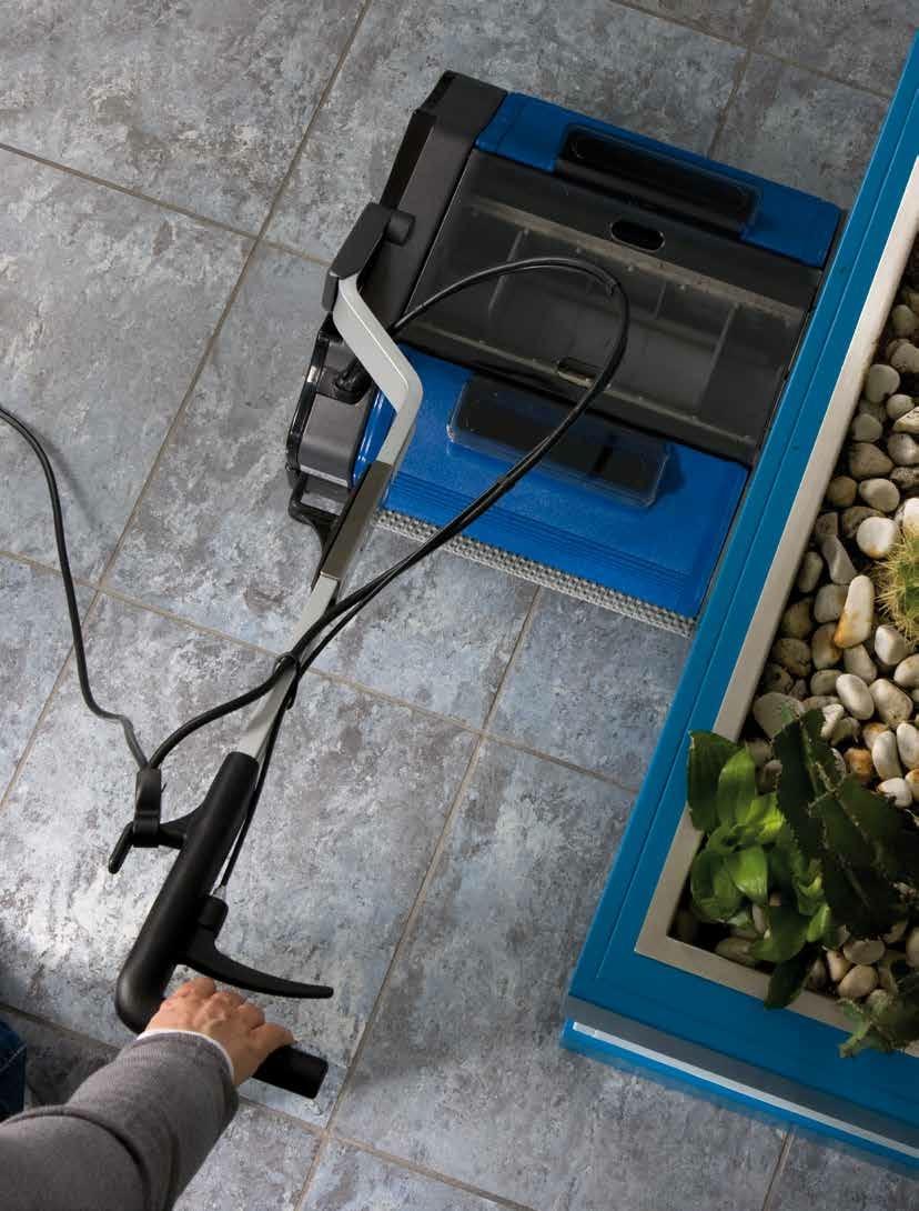 D420 steam Universal-Reinigungsmaschine für alle Arten von Böden ...